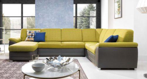 Badr new u-sofa set forfra