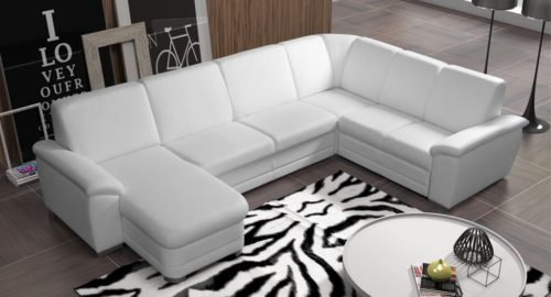 Badr U-sofa set forfra