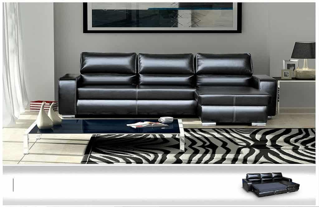 Blackbird chaiselong sovesofa med vist soveplads