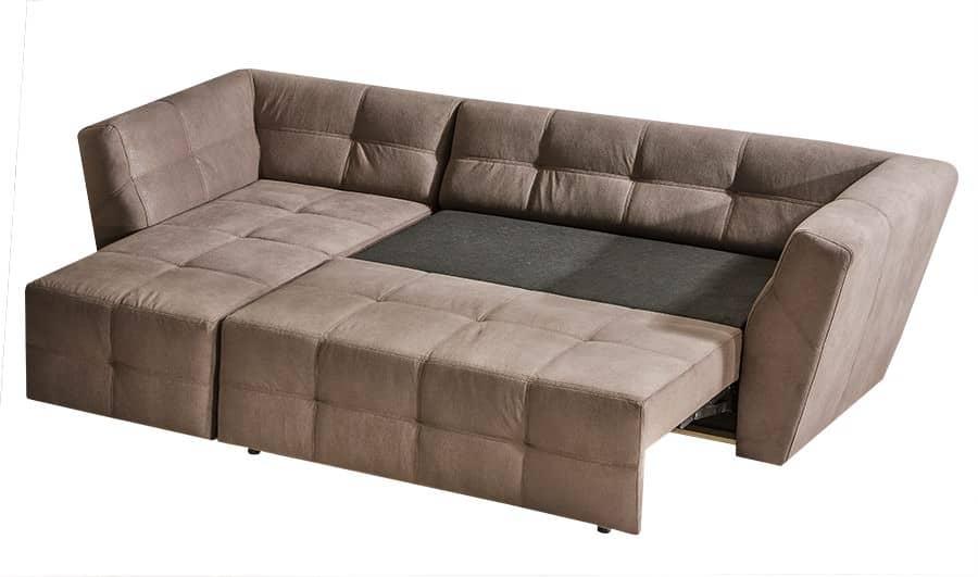 Buenos chaiselong sofa med udtræksseng set med soveudtræk