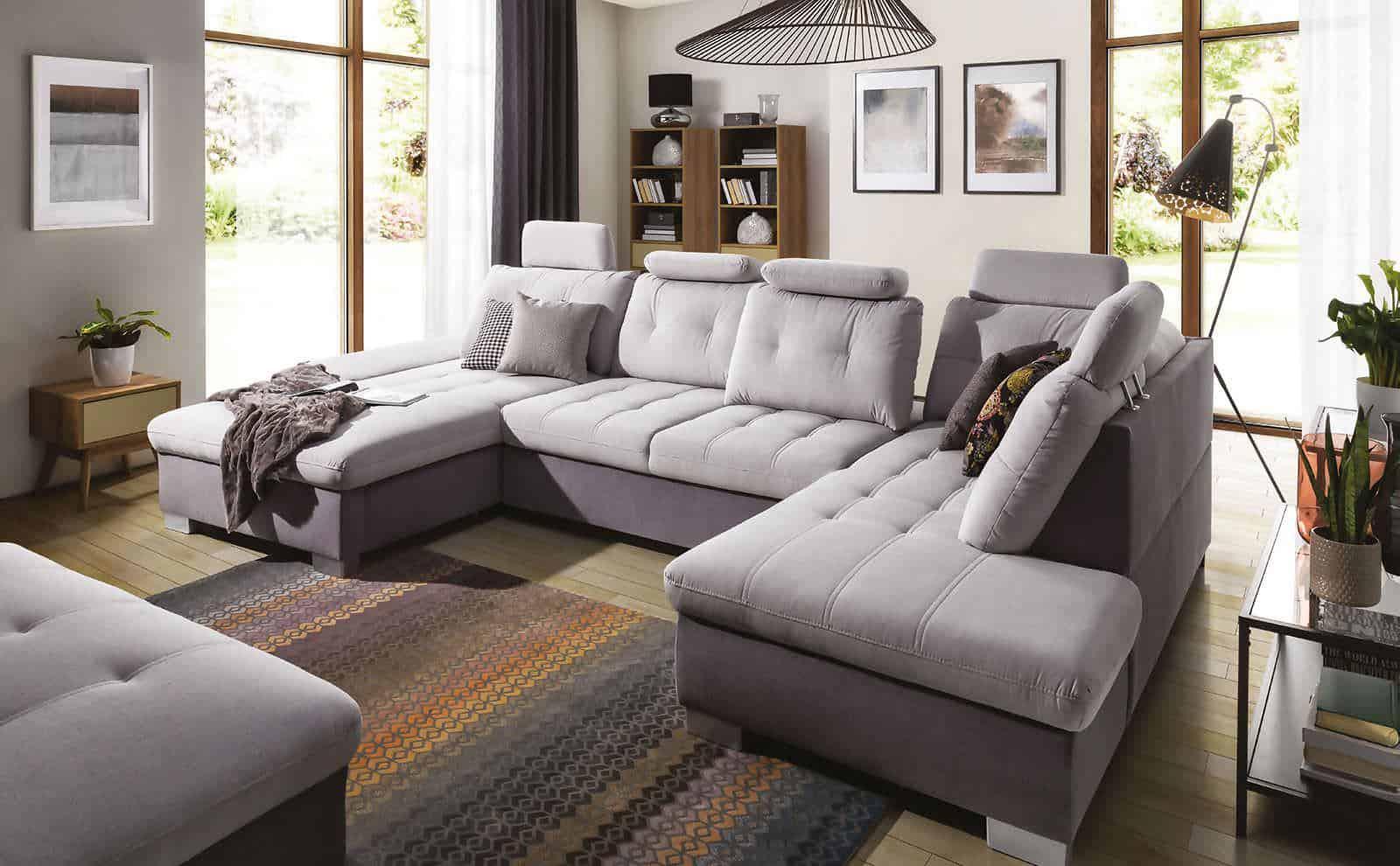 Centurion u-sofa set fra venstre side