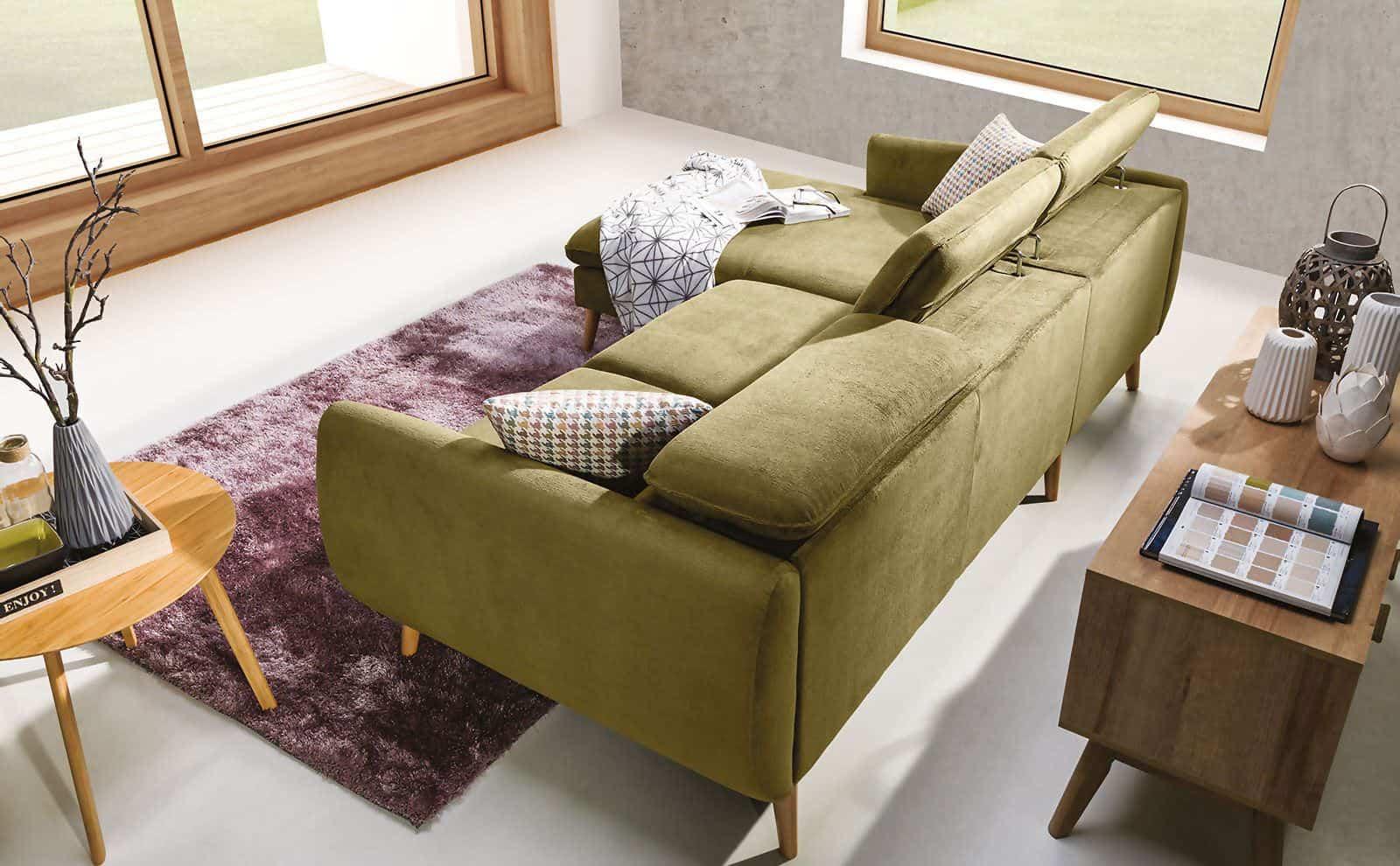 CRESCENDO chaiselong sofa