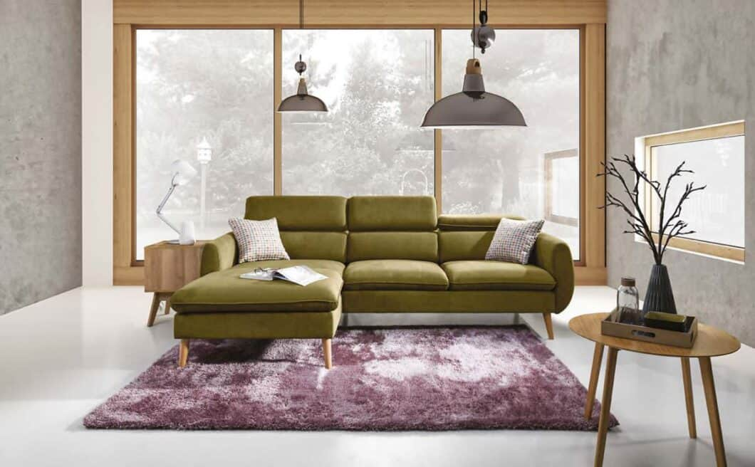 CRESCENDO chaiselong sofa