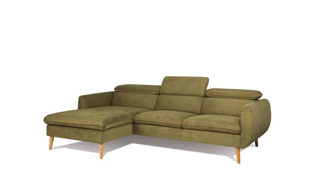 Crescendo chaiselong sofa set fra højre side