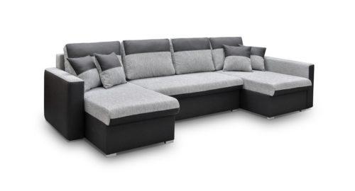 Fano u-sofa set forfra