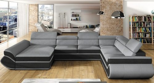 Genesis U-sofa set forfra
