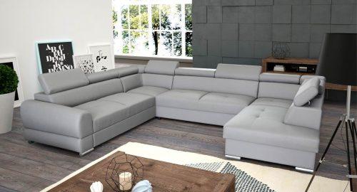 Lucas u-sofa set forfra