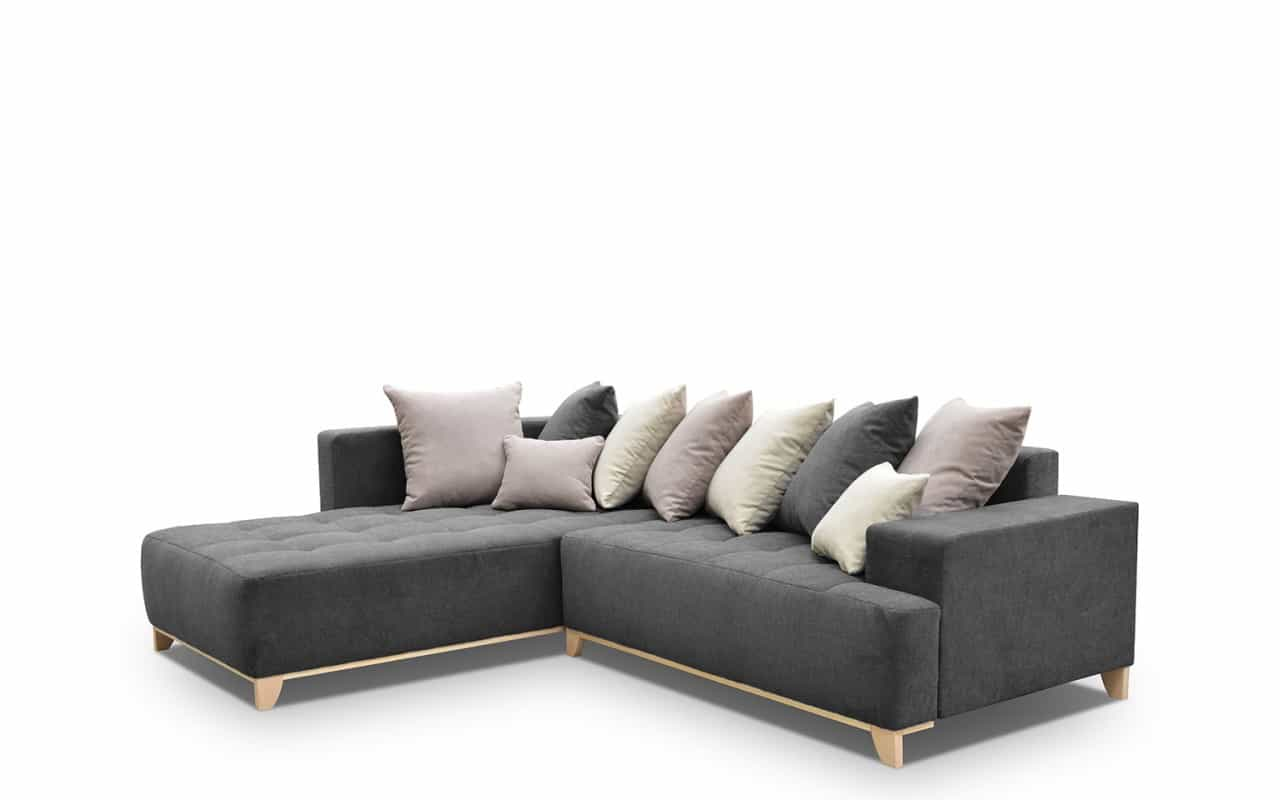 Elegant Sovesofa Med Opbevaringsplads I Tidslost Design