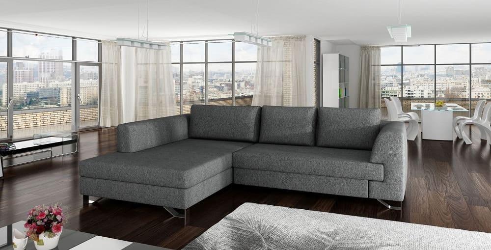 Mohito sofa med chaiselong set forfra