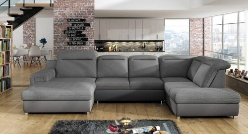 Panama u-sofa set forfra