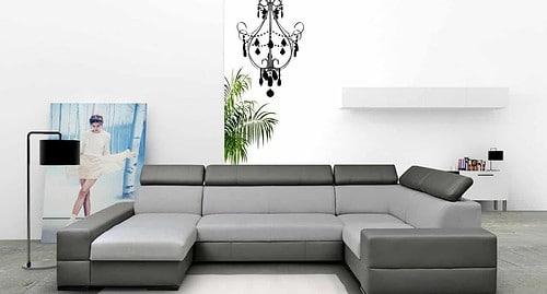 Toronto u-sofa set forfra