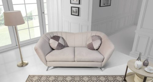 Vittorio 2 personers sofa set forfra
