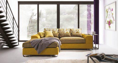 Corsica chaiselong sofa set forfra