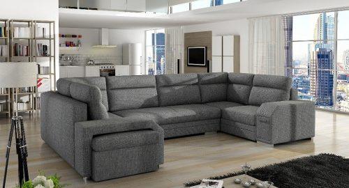 Alvares U-sofa set forfra