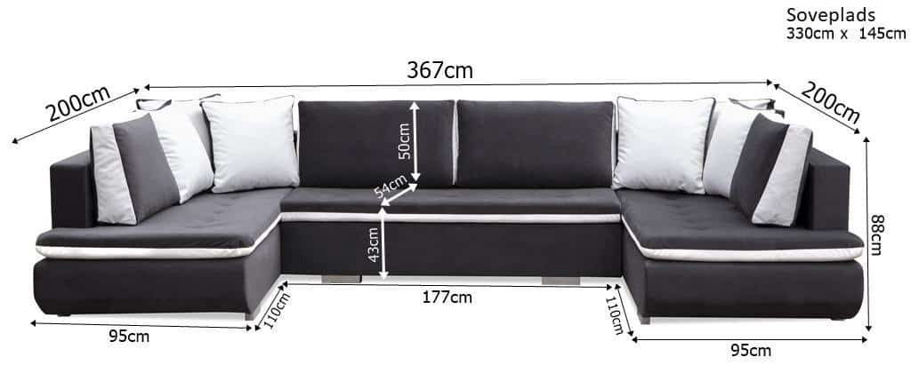 Argentina U-sofa zoom