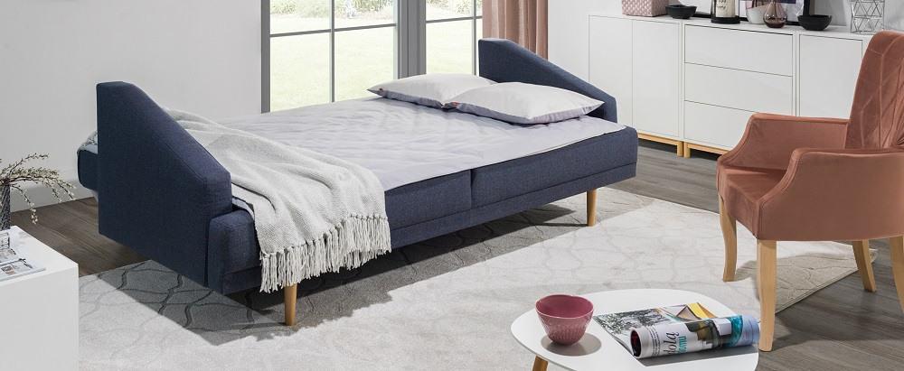Pawia 3 personers sofa omdannet til seng