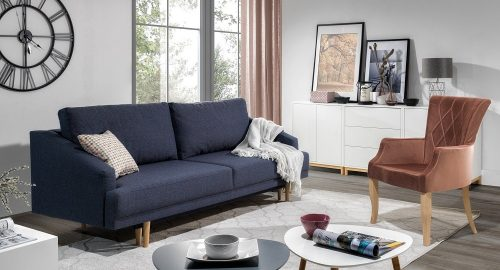 Pawia 3 personers sofa set forfra