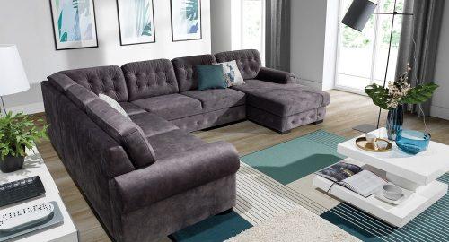 Tornata u-sofa set forfra