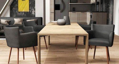 Copenhagen spisebordstole omkring bordet