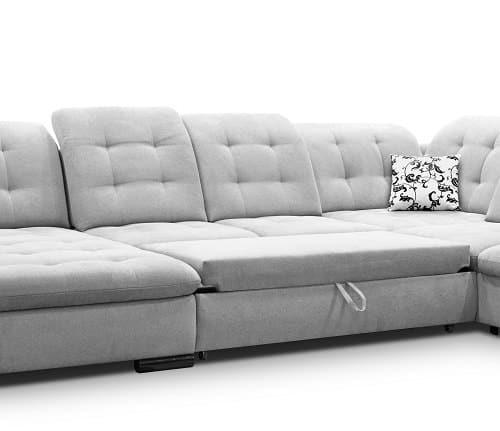 Certina u sofa udslået til seng