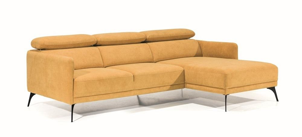 Siena chaiselong sofa set på skrå