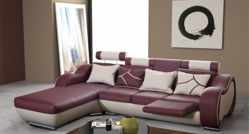 Arizona chaiselong sofa set forfra