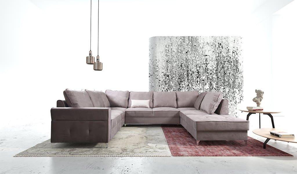 Reynolds u sofa set forfra