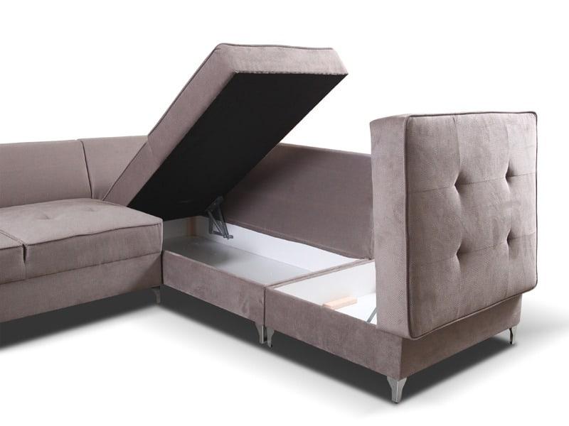 Stilo u sofa vist med åben opbevaring
