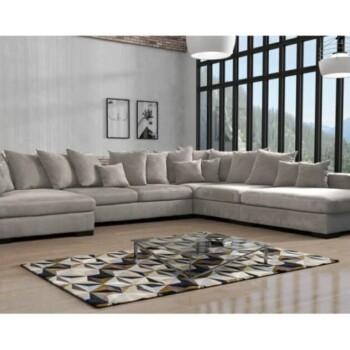 HAMILTON MAXI lysegrå u sofa Image