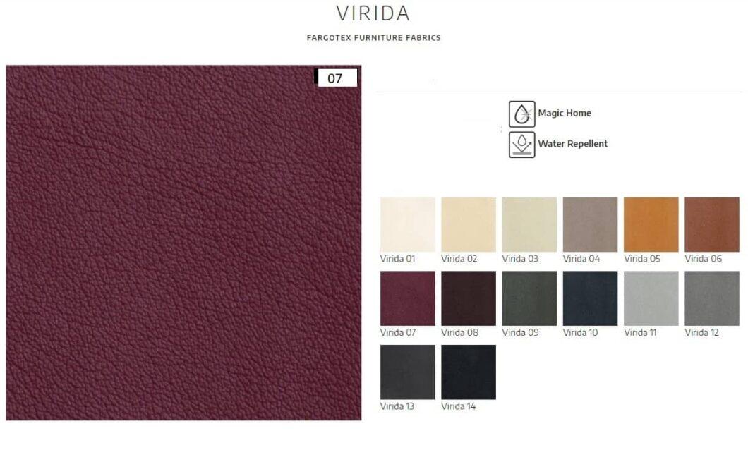 Viridia PU-læder prøver
